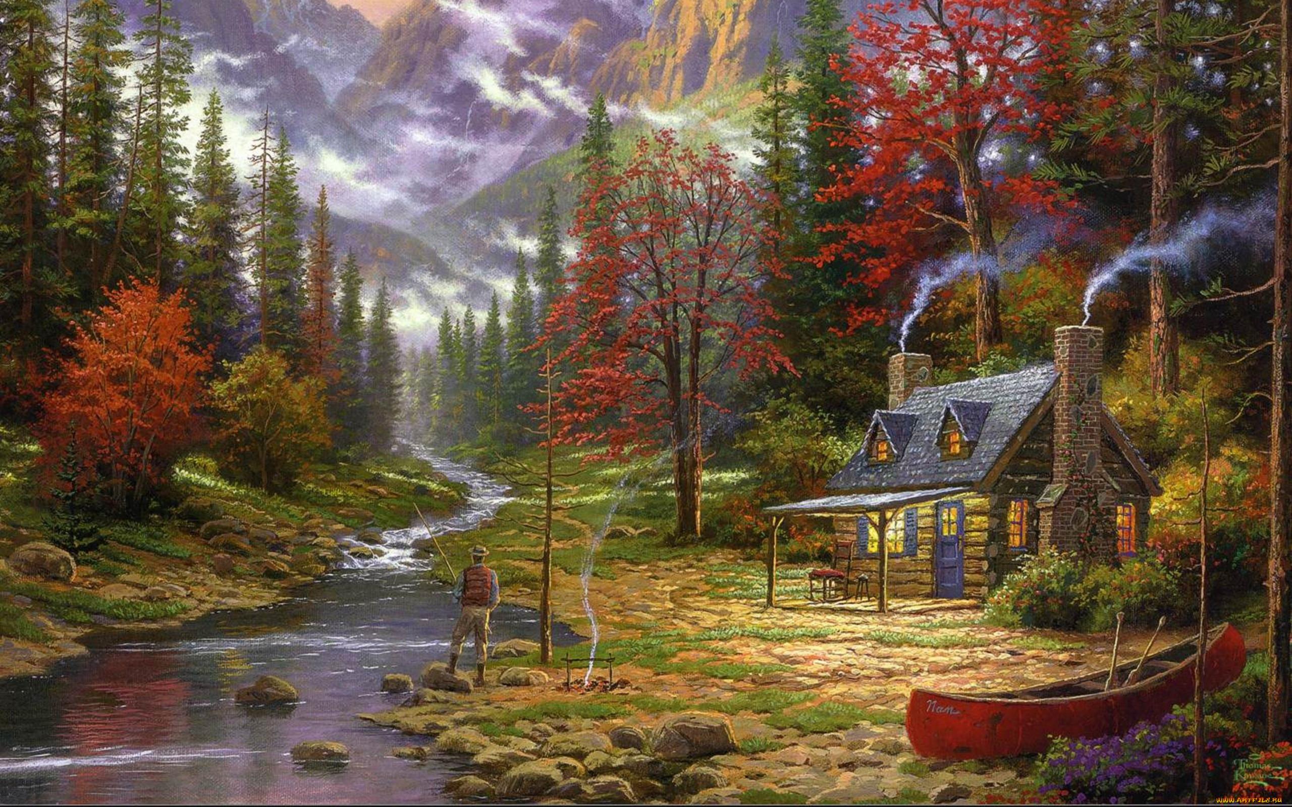 Сказочные пейзажи для фото